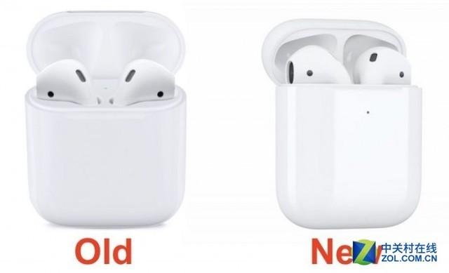 苹果发布第二代 AirPods 充电盒 支持无线充电