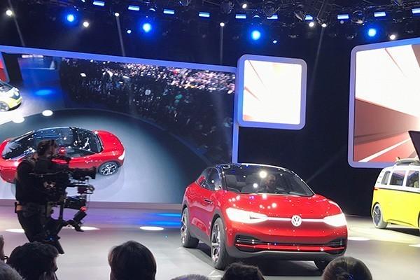 法兰克福车展:大众I.D.Crozz II概念车发布