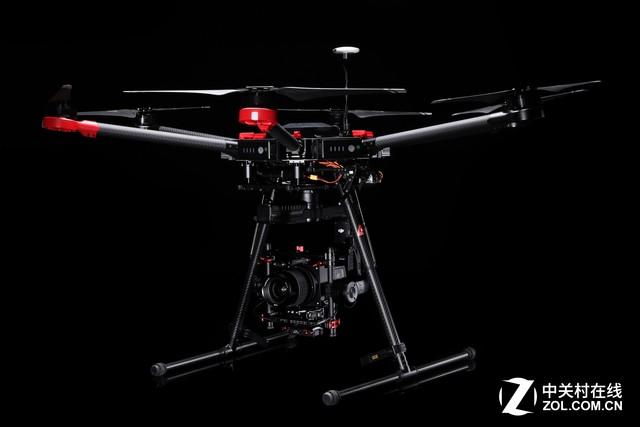 经纬相机_哈苏a5d航空相机,大疆经纬m600飞行平台套装侧面