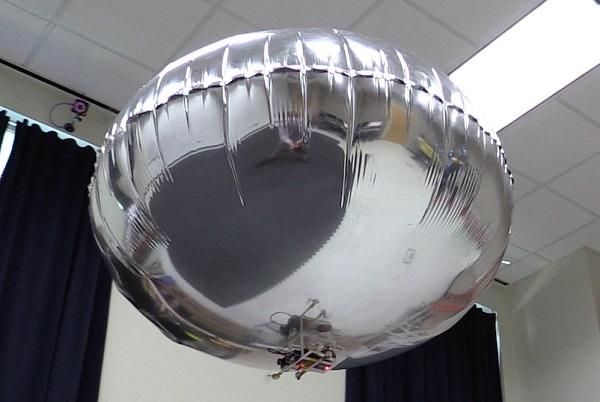 """乔治亚理工展示防碰撞的""""智能飞艇"""""""