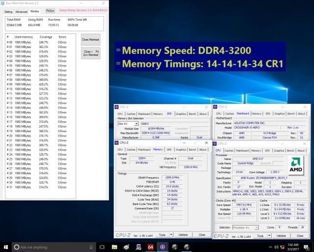 芝奇推出AMD Ryzen处理器专属DDR4内存