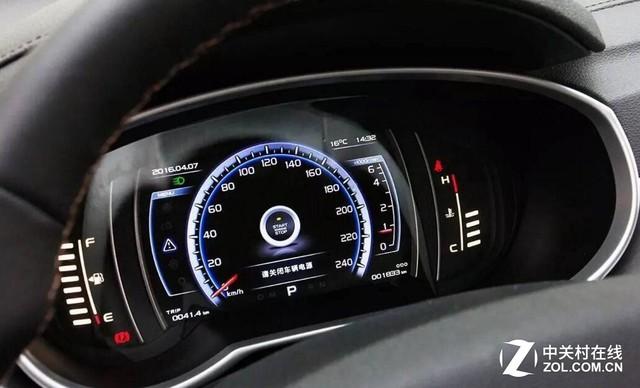 全液晶仪表/激光大灯 解析汽车显示产品