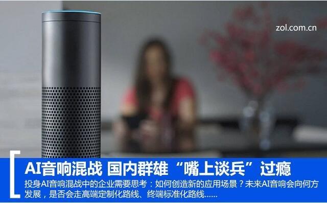 """AI音响混战 国内群雄""""嘴上谈兵""""过瘾"""