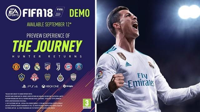 《FIFA 18》试玩版来了! 快去下载吧!