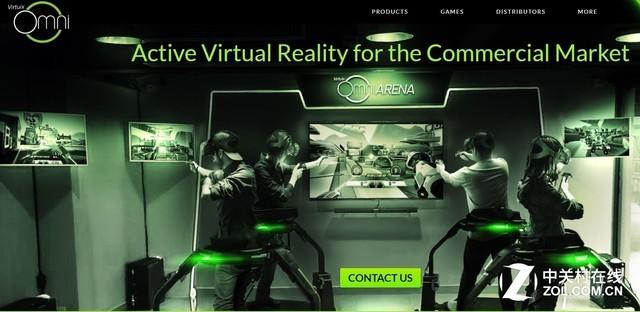 VR届的Steam?Virtuix推出VR分发平台