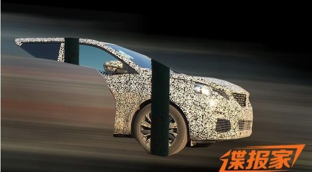 图片来自 汽车之家-东风标致5008谍照曝光 或明年上市推出高清图片