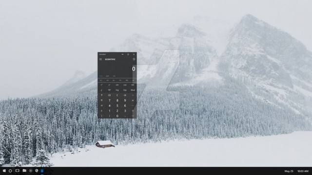 美到苹果都想哭,windows7系统还原操作,Win10毛玻璃界面曝光