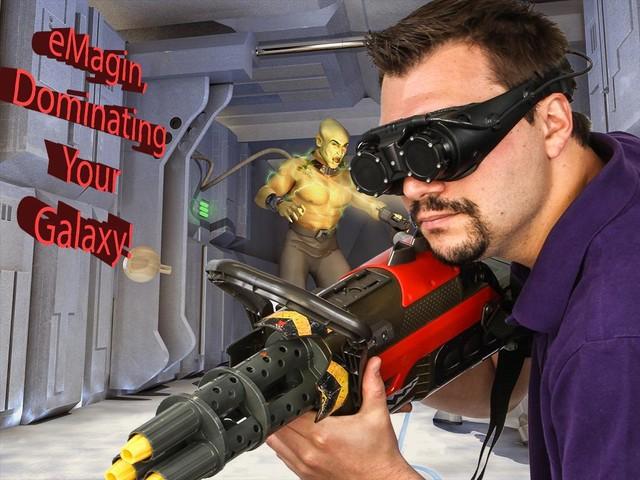 eMagin将在洛杉矶展示新OLED VR头显