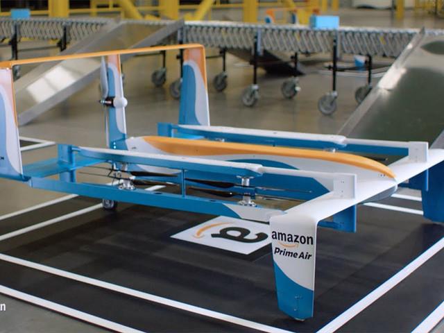 亚马逊在法新建研发中心:专注无人机送货