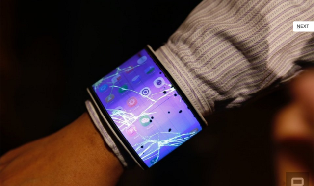 联想柔性屏设备:屏幕主板电池都可弯曲
