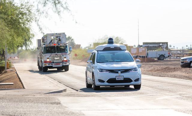 Waymo:自动驾驶车需应对紧急救护车辆