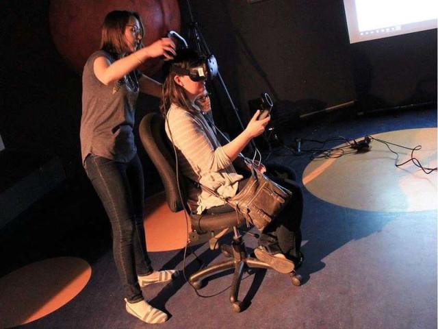 这款VR游戏 让视觉障碍用户也能体验