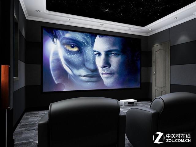 更高级的观影方式 在家组装个家庭影院