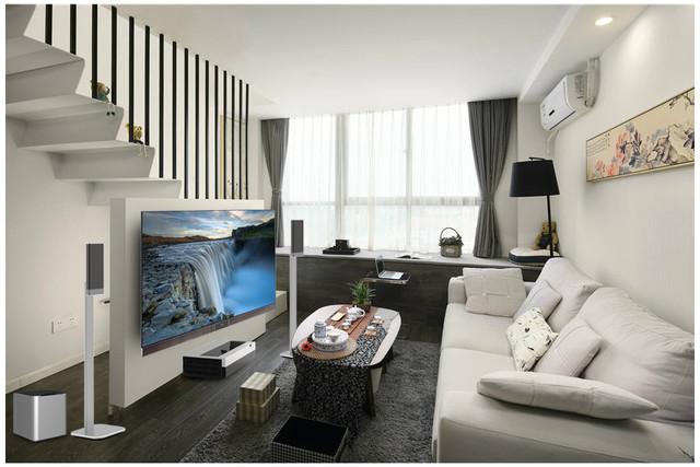 住小房子的白领凭什么享受大屏观影?