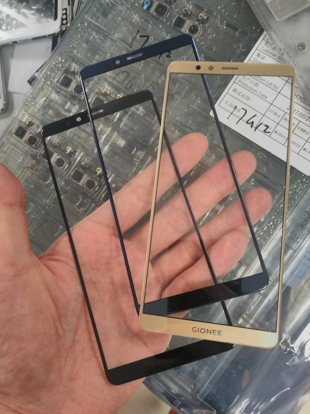 金立全面屏手机M7盖板曝光,TP屏占比极高