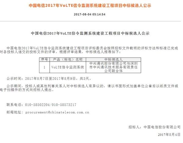 提速明显 中国电信VoLTE即将迎来商用