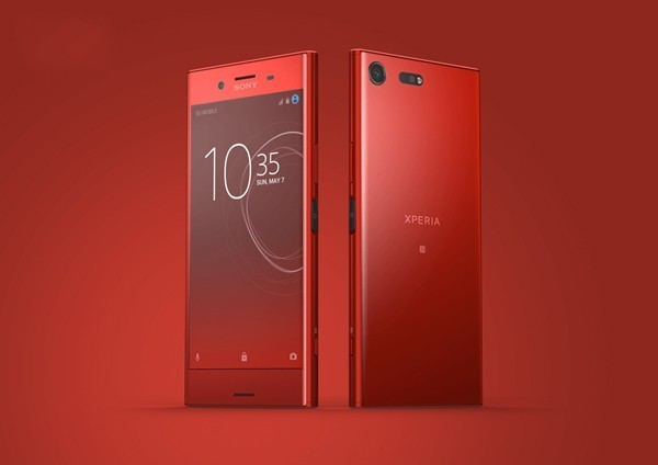 索尼Xperia XZP红色版上市 售价超苹果8_索尼