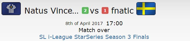 SLi S3八强赛 NaVi艰难战胜fnatic晋级