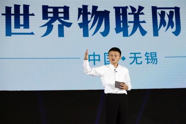 马云现身世界物联网峰会极豆定义智能出行方式
