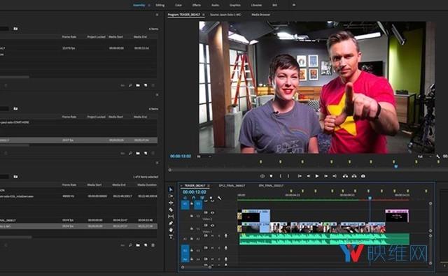 两个Adobe软件计划增加VR视频剪辑特效