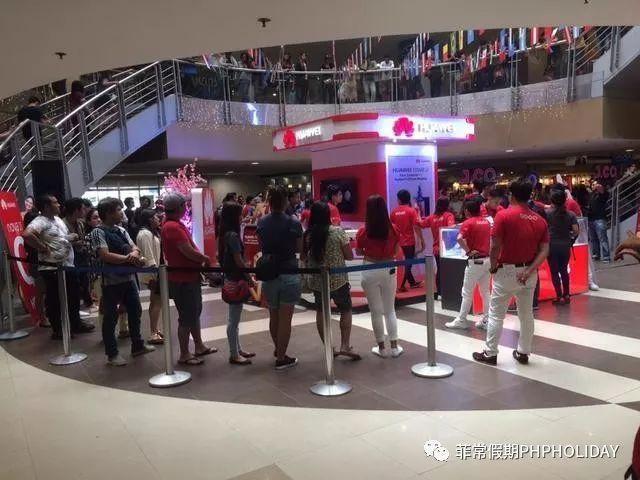 引关注 华为Mate10菲律宾预售排起长队