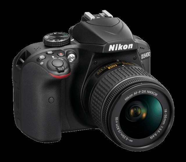 尼康发布入门级DX格式数码单反相机D3400