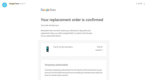 北美用户的福利 Nexus 6P坏了可换新机