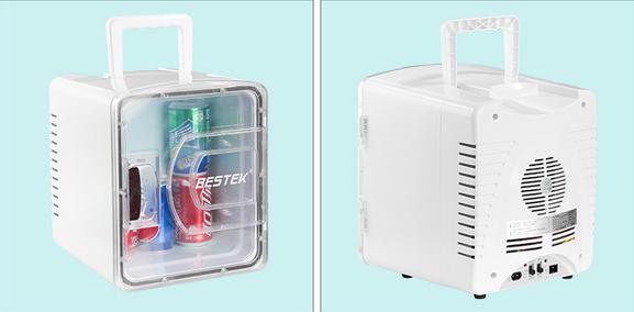 夏天怎么能没有冰箱 百事泰家车两用冰箱不到300元