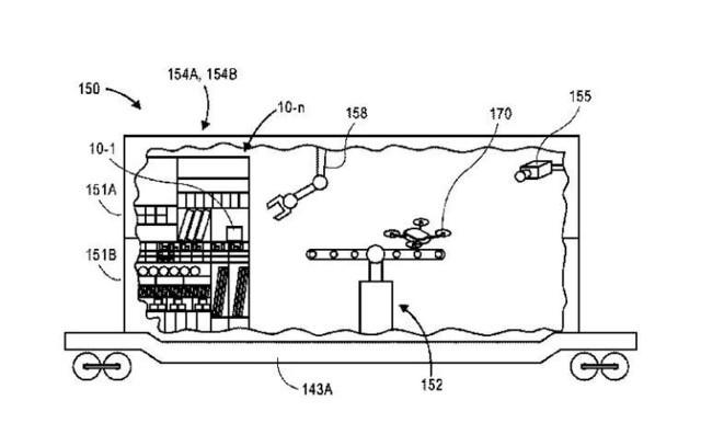 亚马逊新专利:为无人机打造维护交付网络