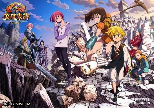 《七大罪》动画第二季开播 手游同期上线