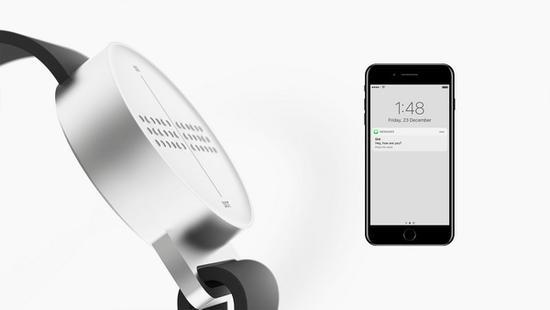 历经3年研发 首款盲人智能腕表上市