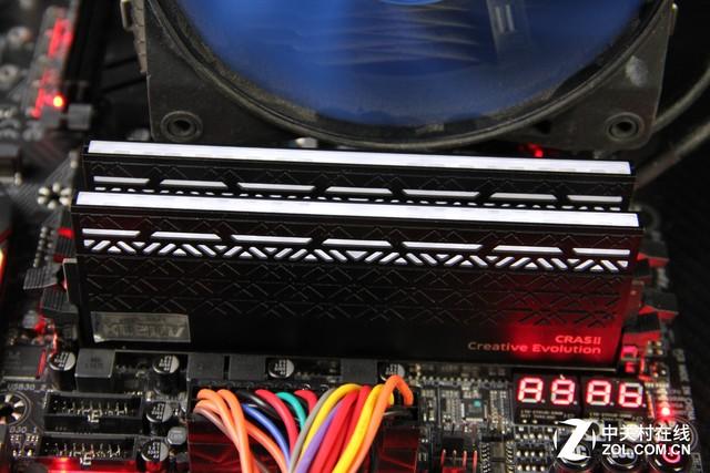 科赋CRAS II 4GB*2 3000MHz内存评测