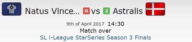 SLi S3半决赛 AS 2比1战胜NaVi挺进决赛