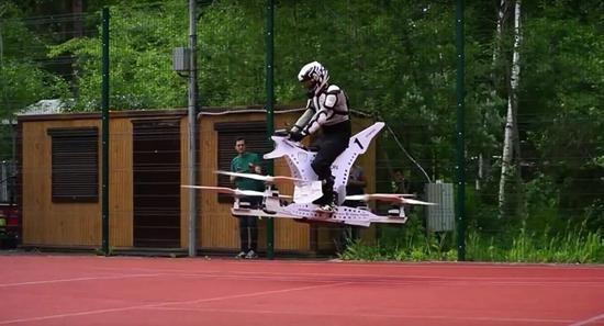 世上首款飞行自行车:Scorpion 1