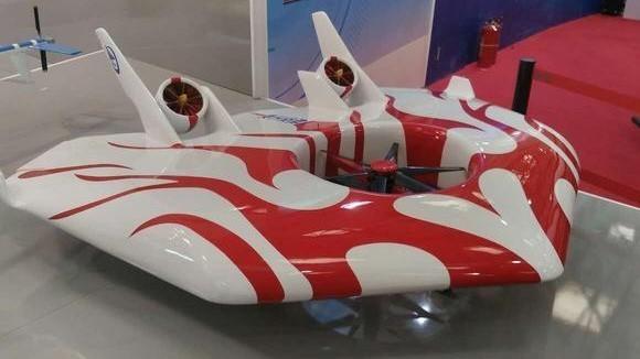 """中国领先的""""黑科技""""磁悬浮旋翼无人机"""