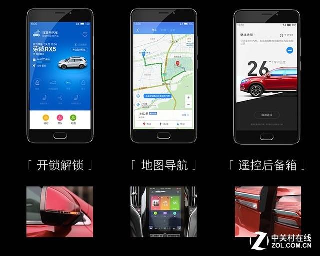 unOS抢眼 互联网汽车荣威RX5限量首发高清图片