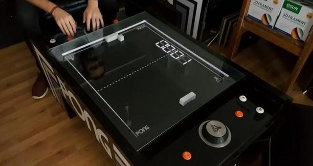 雅达利经典游戏《乒乓》被大触做成桌游