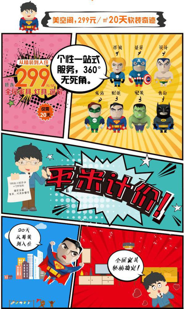 京东携手美空间推出299元/㎡软装众筹