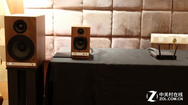 全面产品展示 广州音响展声擎展房直击
