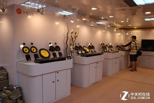 各种音箱齐上阵 带你探探惠威科技展房