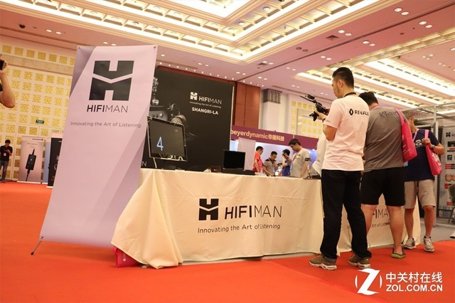 香格里拉显神威 广州音响展HIFIMAN展台