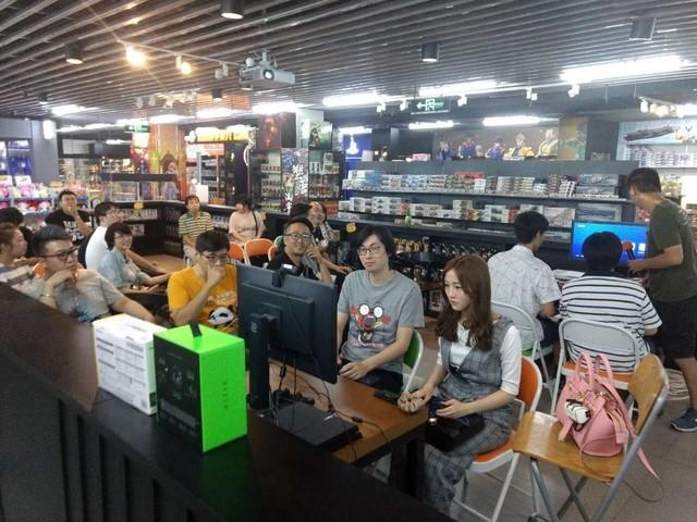 游戏收藏两不误 北京雷蛇玩家派对记录