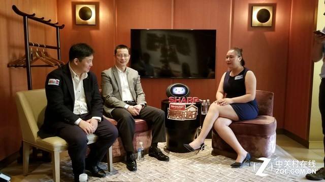专访夏普高层:未来将战略布局8K电视技术