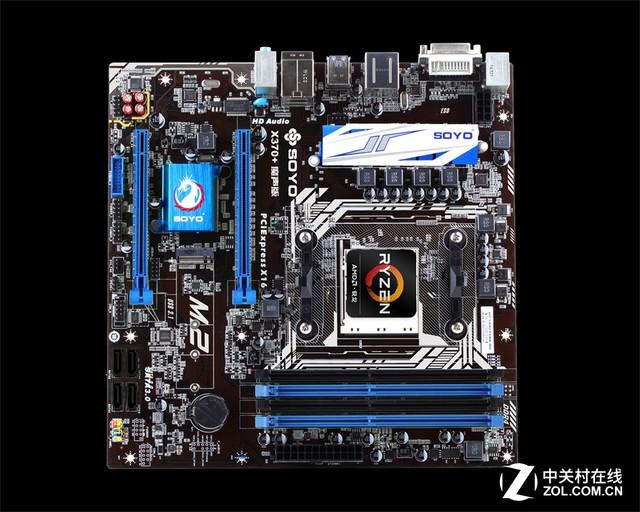 梅捷AM4主板登场 完美支持锐龙处理器