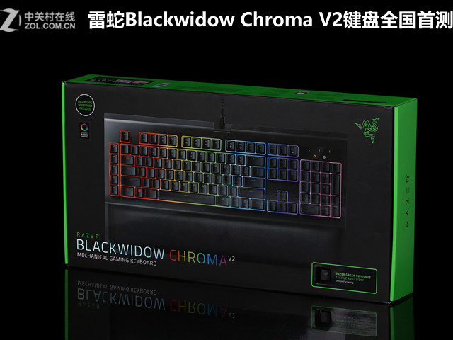 雷蛇#e5e5e5widow Chroma V2键盘全国首测