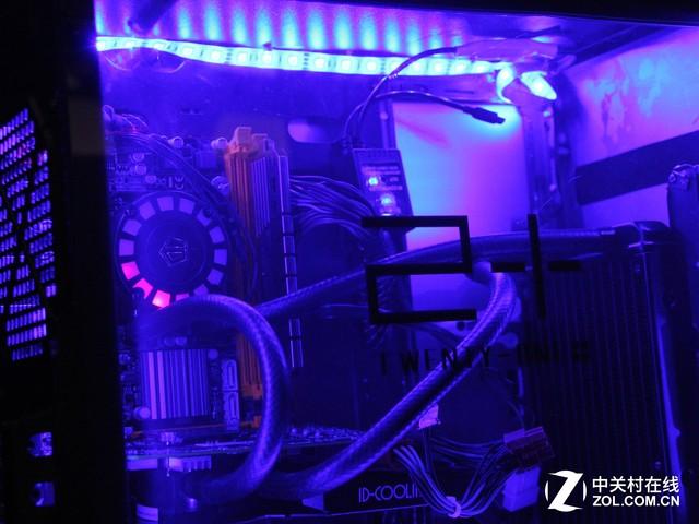 脑洞Bang 电锯切割打造水冷节奏灯机箱