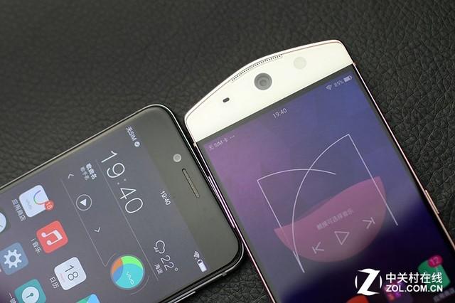 尖Phone:自拍都补光 vivo X7对比美图M6