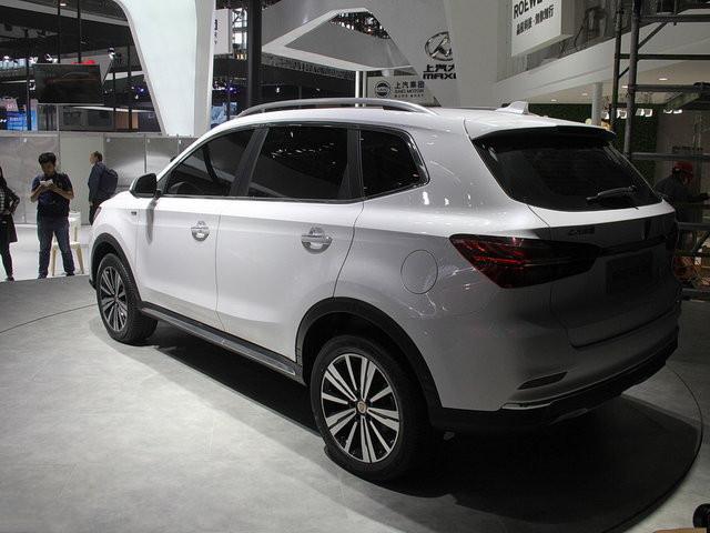 荣威eRX5广州车展上市 搭载蓝 绿芯技术高清图片