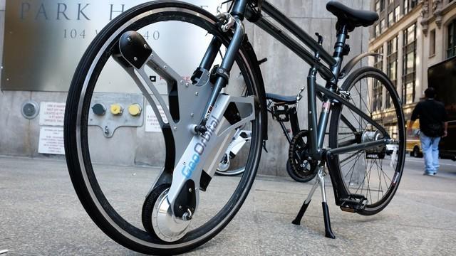 自行车秒变电动车 你只需要这样一个轮子