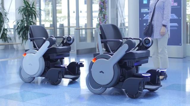 轮椅也要自动驾驶 松下觉得这主意不错